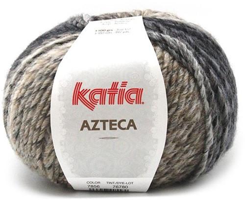 Azteca poncho knit kit 1