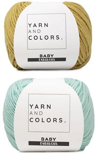 Summer Dream Blanket 4.0 Crochet Kit 2 Gold & Jade Gravel