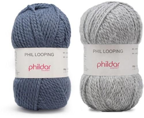 Looping ladies cardigan knit kit 2 - 38/40