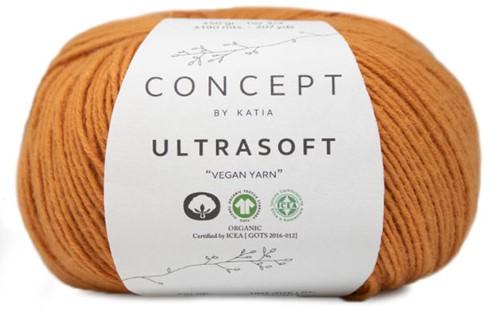 Ultrasoft Summer Top Knitting Kit 1 38/40 Mustard