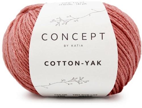 Cotton-Yak Girls Cardigan Knitting Kit 1 8 years Coral
