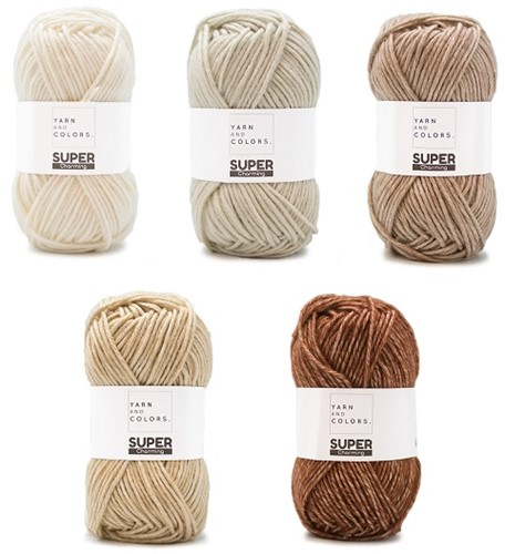 Yarn and Colors Degrade WOW! Wall Hanging Kit 002