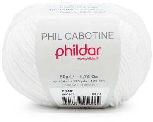 Cabotine Popcorn Baby Blanket Crochet Kit 2