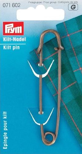 Prym Kilt pin bronze 76mm
