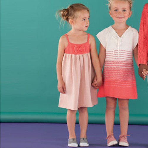 Knitting Pattern Childrens' Dress