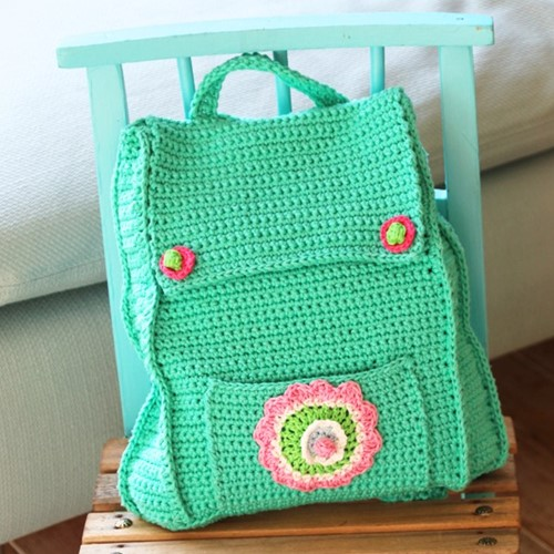 Crochet Pattern Childrens' Backpack