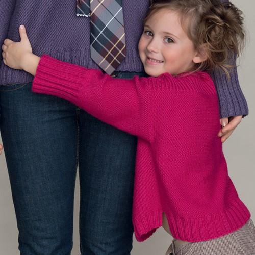 Partner 3.5 Children's Sweater Knitting Pattern