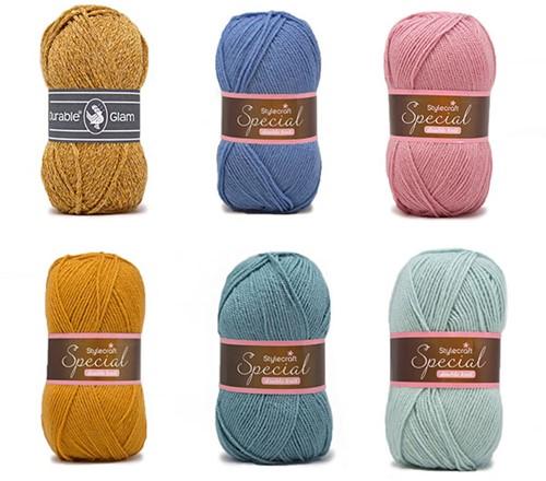 Special Square Blanket Crochet Kit 1