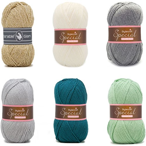 Special Square Blanket Crochet Kit 2