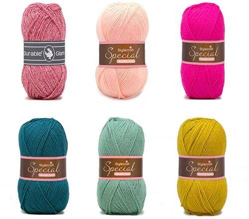 Special Square Blanket Crochet Kit 3