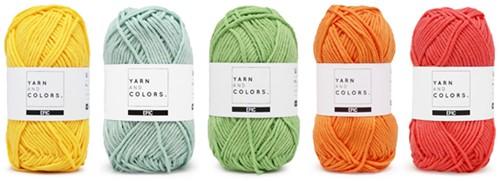 Yarnplaza Rainbow Rug Crochet Kit 1 Pastel