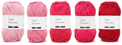 Yarnplaza Rainbow Hanging Musical Toy Crochet Kit 4 Girly