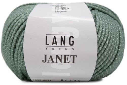 Janet Sweater Knitting Kit 1 L/XL Sage