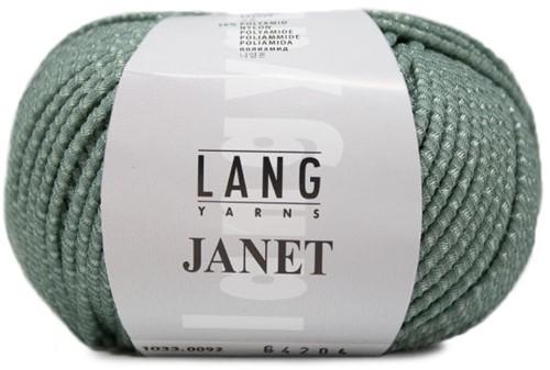 Janet Sweater Knitting Kit 1 S/M Sage