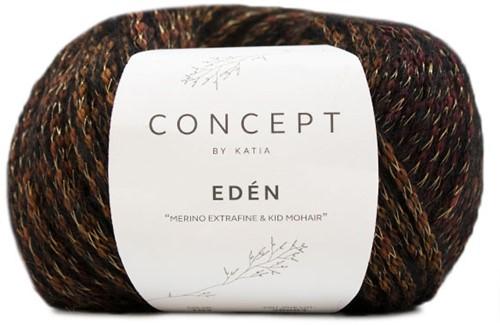 Eden Raglan Sweater Knitting Kit 1 38/40