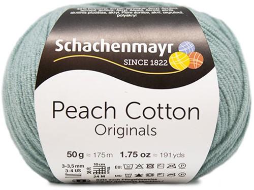 Peach Cotton Maren Summer Sweater Knitting Kit 1 40/42 Pepper Mint
