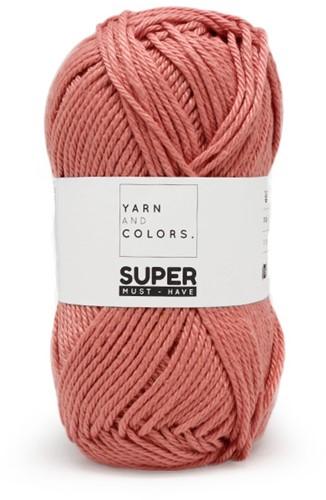 Tunisian Smock Stitch Cushion Crochet Kit 2 Old Pink