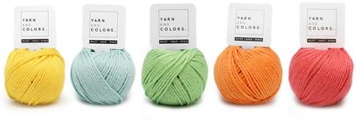 Yarnplaza Rainbow Punch Needle Kit 1 Pastel