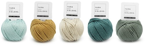 Yarnplaza Rainbow Teething Ring Crochet Kit 2 Vintage green