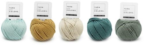 Yarnplaza Rainbow Rattle Crochet Kit 2 Vintage green