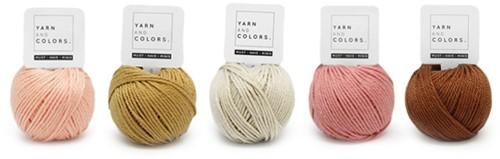 Yarnplaza Rainbow Rattle Crochet Kit 3 Vintage pink