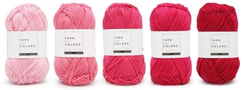 Yarnplaza Rainbow Wall-Hanging Crochet Kit 4 Girly