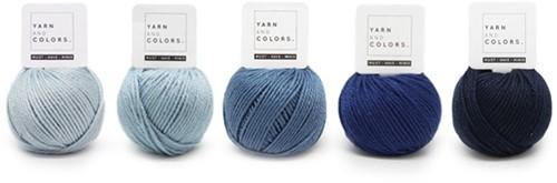 Yarnplaza Rainbow Rattle Crochet Kit 5 Cloudy