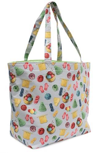 Craft Bag Knit N Purl
