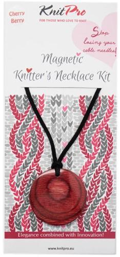 Knitpro Magnetic Necklace Kit Cherry Berry