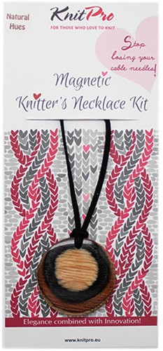 Knitpro Magnetic Necklace Kit Natural Hues