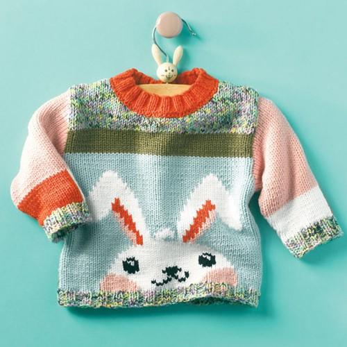 Knitting Pattern Rabbit Sweater
