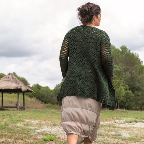 Re-Tape Granny Cardigan Crochet Kit