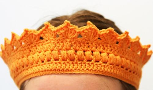 Crochet pattern Crown