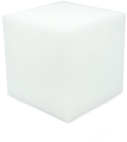 Durable Foamed Cube 10 x 10cm