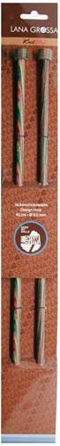 Lana Grossa Design-Holz 40cm Knitting Needles 6,5mm