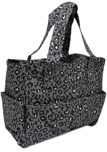 Craft Bag Leopard Grey