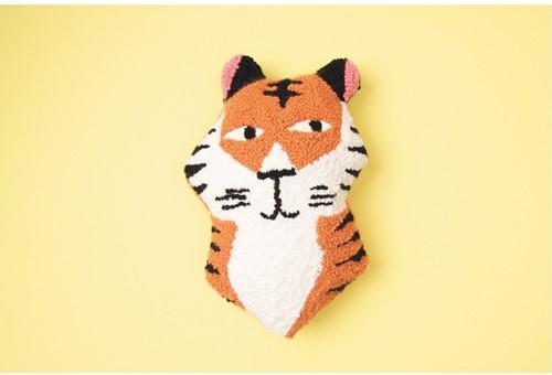 Tiger Cushion Punch Needle Kit