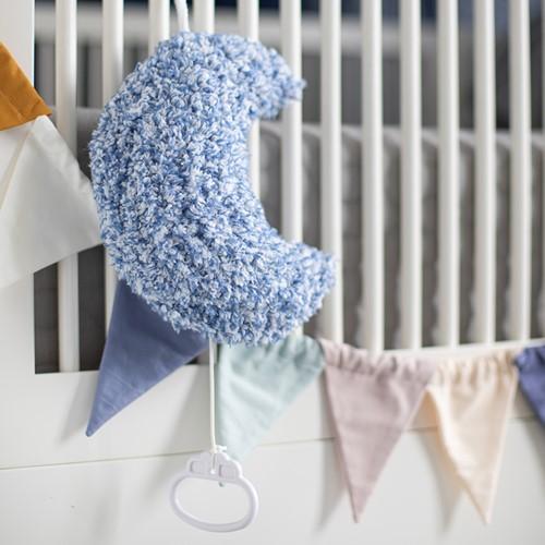 Crochet Pattern Music Box Moon