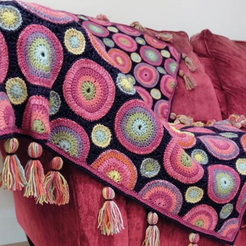 Magic Circles Blanket Crochet Kit