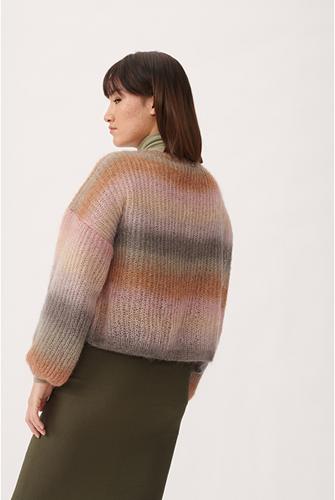 Knitting Pattern Essentials Super Kid Mohair Loves Silk Print Cardigan