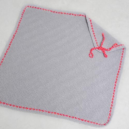 Knitting pattern Merino Aran baby blanket