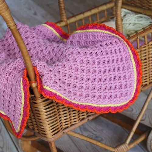 Crochet Pattern Merino Extra Fine Baby Blanket