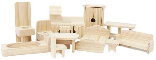 Doll House Furniture Set