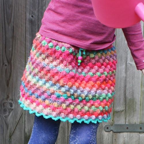 Crochet pattern Mille Colori girl's skirt
