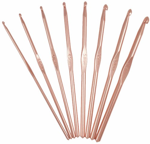 Milward Rosé Crochet Hook Set 3.00 - 6.50mm