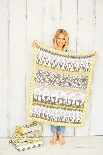 Letitia's Garden Blanket CAL Yarn Kit 2 City Garden M