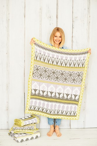 Letitia's Garden Blanket CAL Yarn Kit 2 City Garden S