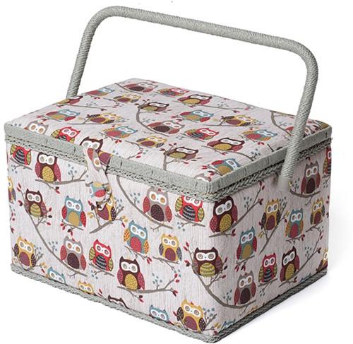 Sewing Box L Hoot