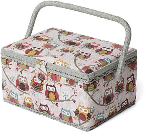 Sewing Box M Hoot