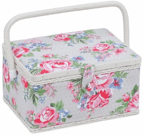 Sewing Box Medium Rose